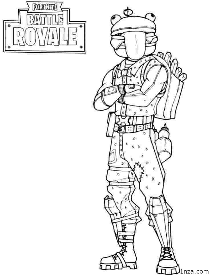 16 Free Printable Fortnite Coloring Pages 1nza