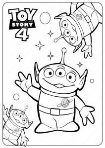 18 free printable toy story 4 coloring pages  1nza