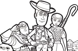 18 Free Printable Toy Story 4 Coloring Pages - 1NZA