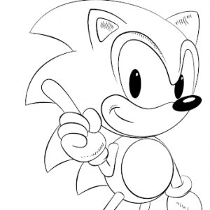 12 Free Printable Sonic The Hedgehog Coloring Pages - 1NZA