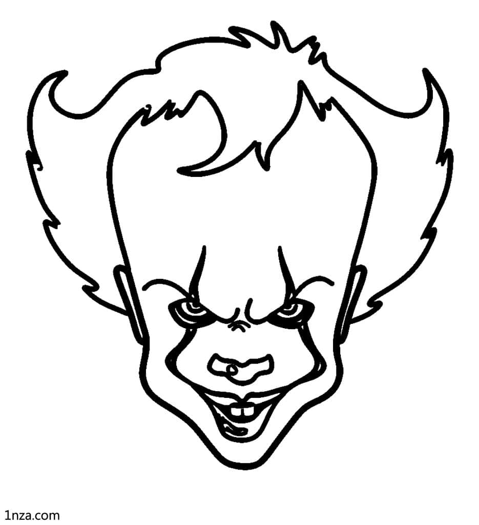 6 Free Printable Pennywise Coloring Pages - 1NZA