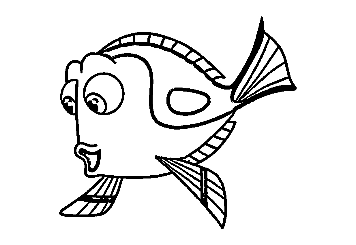 Finding Dory Coloring Pages 1nza